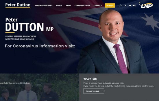Peter Dutton Website Inspiration1
